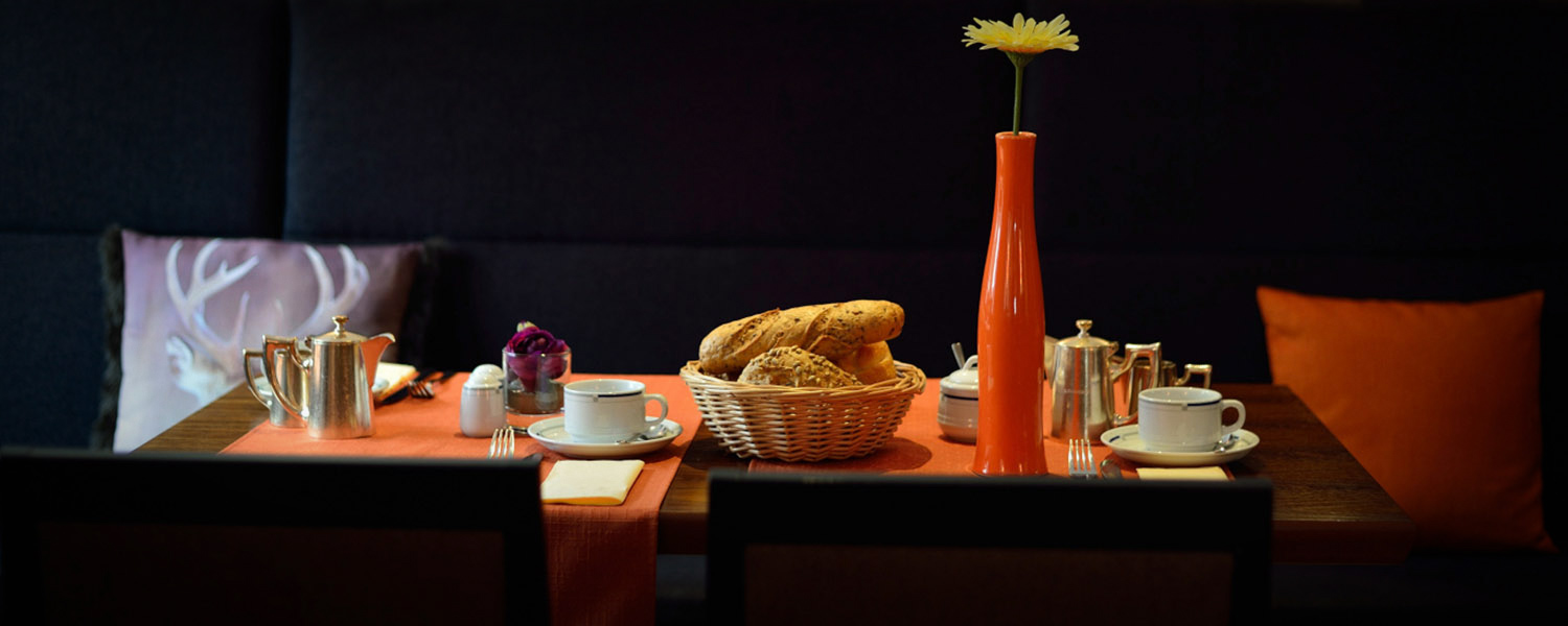 Breakfast like an Emperor: Hotel Garni Goldenes Kreuz
